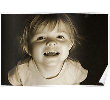 Little Girl ......Feeling Happy Poster