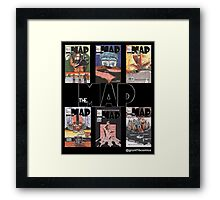The Map First Six Covers Framed Print