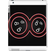 Infinity Symbol - Red Optic iPad Case/Skin
