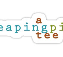 A LeapingPig Tee Sticker