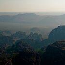 Sandstone landscape, Kakadu National Park, Northern Territory.  by Bill  Russo