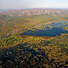 Wetlands, Kakadu National Park, Northern Territory.  by Bill  Russo