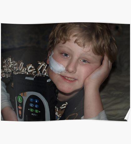 my brave boy Poster