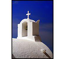 Santorini Chruch Photographic Print