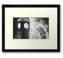 London NYE Framed Print