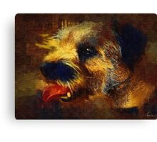 Butch painted Canvas Print