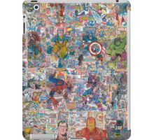 Vintage Comic Superheroes Galore (Limited Time) iPad Case/Skin