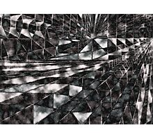 Elevating Cube - Ice Mirror Photographic Print