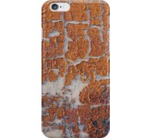 Fragment of grey concrete wall iPhone Case/Skin