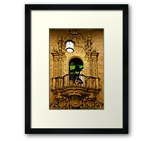 Luxurious Lobby Framed Print