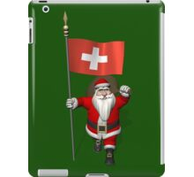 Santa Claus Visiting The Swiss Confederation iPad Case/Skin