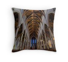 CATHEDRAL OF THE HOLY CROSS Throw Pillow