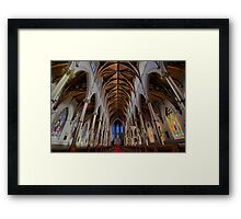CATHEDRAL OF THE HOLY CROSS Framed Print