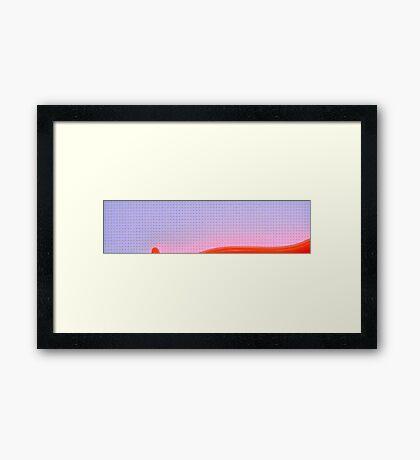 Vegetable peeler Framed Print