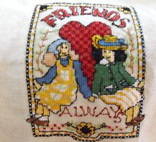 Friends in Cross Stitch by 4spotmore