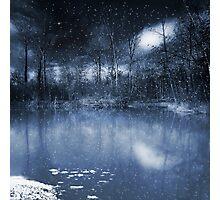 Evening Snow Photographic Print