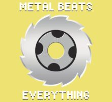Metal Beats Everything Kids Clothes