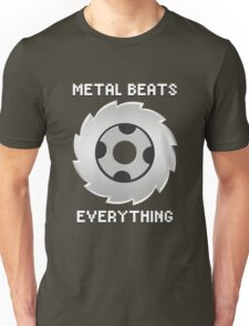 Metal Beats Everything Unisex T-Shirt