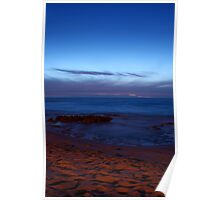 Sunset, Surf and Sand - North Beach Poster