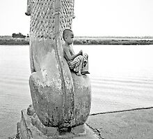 Boy by the River  by Ethna Gillespie