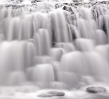 The many textures of a waterfall by Jason Ruth