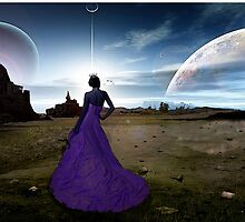 it helps knowing that somewhere you see the same moon by Terri  Kruithof