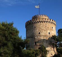 The white tower by portokalis
