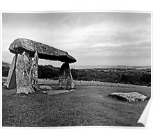Pentre Ifan West Wales Poster