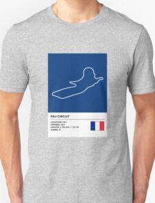 Pau Circuit - v2 Unisex T-Shirt