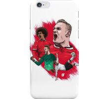 Red Devils iPhone Case/Skin