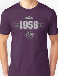 Born in 1956 (Light&Darkgrey) Unisex T-Shirt