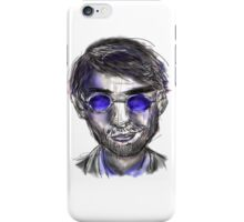 murdock - white background iPhone Case/Skin