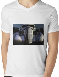 Day Glow Grill Mens V-Neck T-Shirt