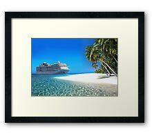 Caribbean Cruise Framed Print