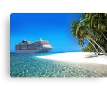 Caribbean Cruise Canvas Print