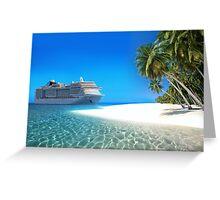 Caribbean Cruise Greeting Card