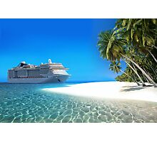 Caribbean Cruise Photographic Print