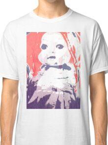 Scary Doll Screenprint #4 Classic T-Shirt