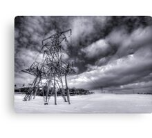 Powered Up Canvas Print