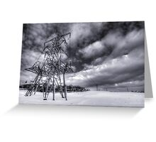 Powered Up Greeting Card