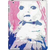 Scary Doll Screenprint #2 iPad Case/Skin