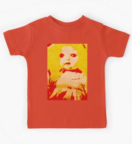 Scary Doll Screenprint #1 Kids Tee