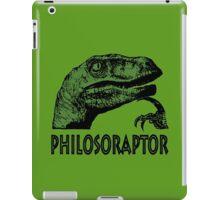 Philosoraptor iPad Case/Skin