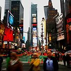 Time Square by wichwetyl
