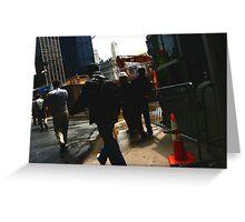 World Trade Center site  Greeting Card