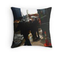 World Trade Center site  Throw Pillow
