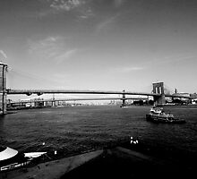 Brooklyn Bridge old style by wichwetyl