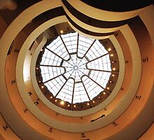 Guggenheim Museum by wichwetyl