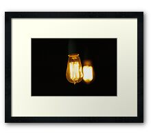 Edison's Reality Framed Print