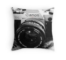 Canon AE-1 Throw Pillow